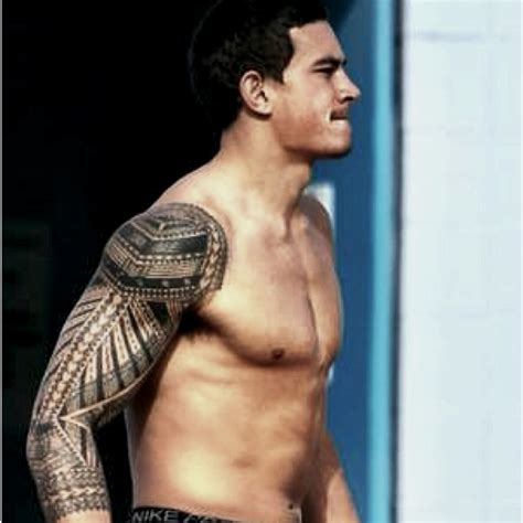 sonny bill williams representin his polynesian ink