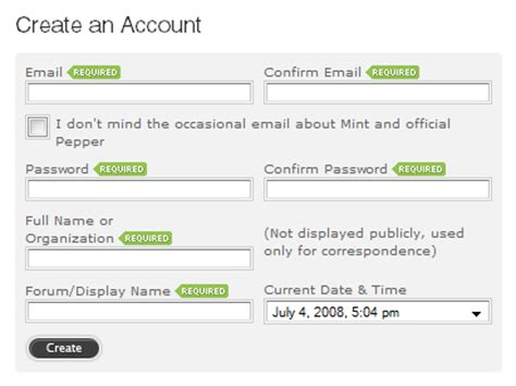 mvp pattern web forms web form design patterns sign up forms smashing magazine