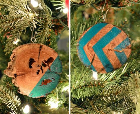 make your home shine through details how ornament my eden making homemade wood slice christmas ornaments young