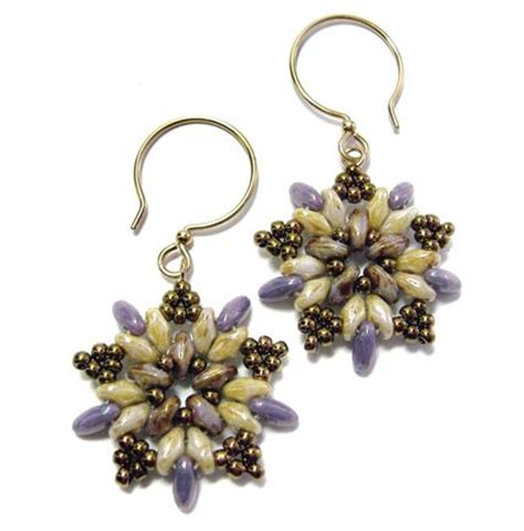 beaded earring designs beautiful beaded earrings tutorials the beading gem s