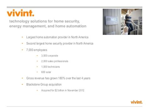 history of vivint home security