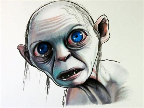 Drawing Markers by Gollum Copic Marker Drawing By Lethalchris On Deviantart