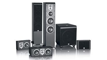 jbl es series home theater speaker system sound vision