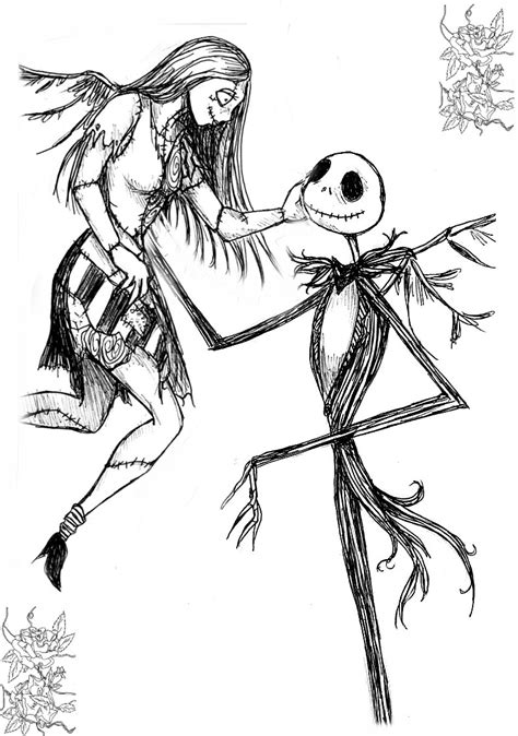 Coloring Pages Jack Skellington Coloring Pages Cool Disney Nightmare Before Coloring Pages
