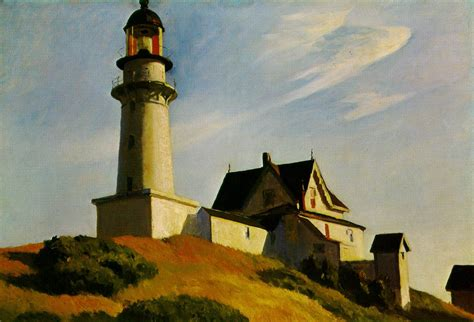 House Of Lights by Webmuseum Hopper Edward Landscapes