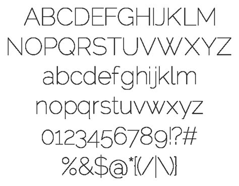 Dafont Raleway | 1000 images about visual design on pinterest keith