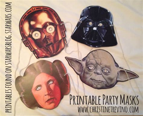 printable jedi mask lego star wars party activities goodie bag christine