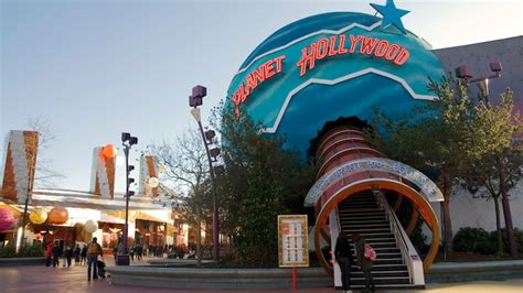 film disney village planet hollywood disneyland paris restaurants