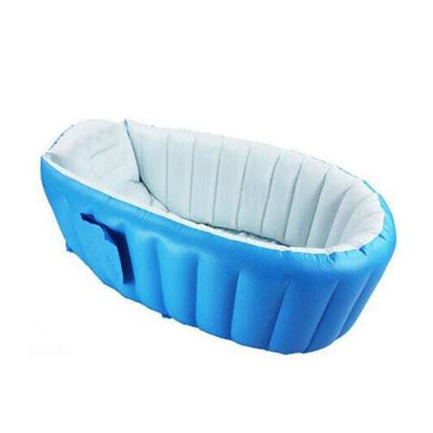 bathtub foldable mambobaby portable inflatable baby bath kids bathtub