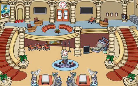 Disney Caracters In Hospital Flooring - image hospital png club penguin wiki fandom powered