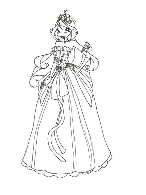coloring book dress winx club wear dress interesting coloring pages jpg 1024