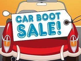 boot sales car boot sale visit kirkcudbright scotland uk