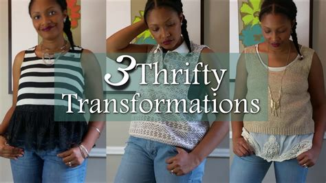 Wardrobe Refashion Wants You To Stop Buying Clothes by 3 Thrifted Transformations Refashion Remake