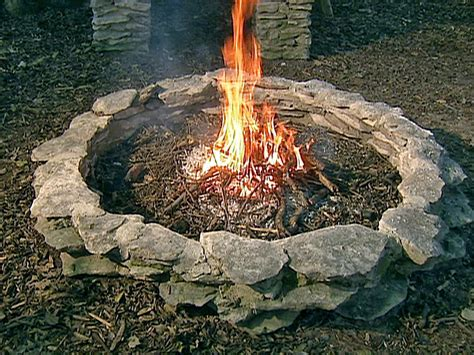 backyard bonfire pit outdoor pits and pit safety hgtv