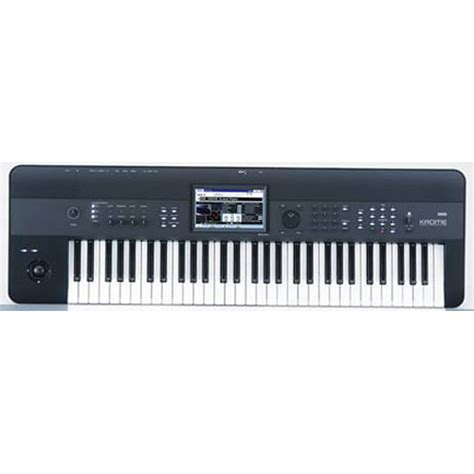 Keyboard Korg Krome 61 by Korg Krome 61 Key Workstation Krome 61 B H Photo