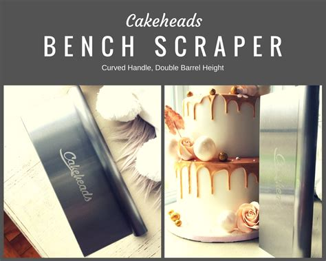 bench scraper for cakes cakeheads extra tall curved handle bench scraper cakeheads