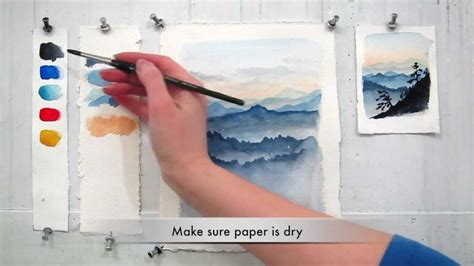 watercolor tutorial step by step easy step by step watercolor tutorial painting the blue