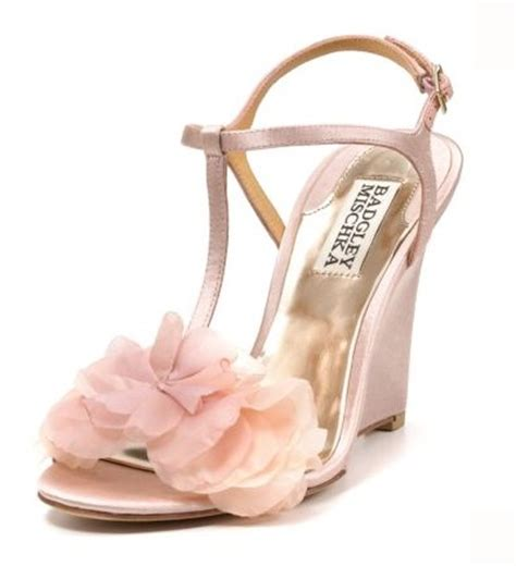 Blush Wedge Wedding Shoes by Need Help Finding Shoes Weddingbee