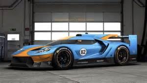 Le Mans Prototype Rendering Ford Gt Le Mans Prototype