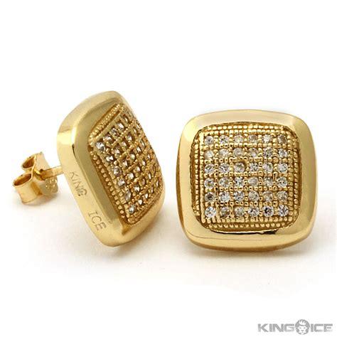 earrings gold diamondstud