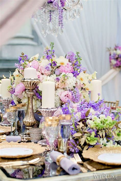 Lilac And Purple Wedding Decorations by 1605 Best Images About Centerpieces On