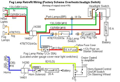 86 mustang headlight wiring diagram wiring diagram