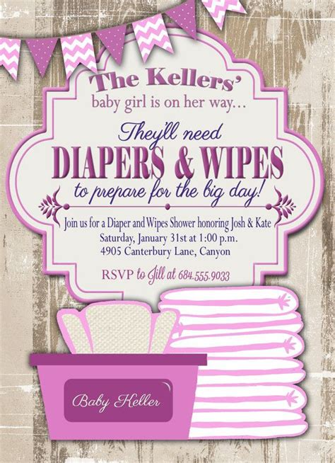 How To Ask For Diapers On A Baby Shower Invitation by How To Ask For Diapers On A Baby Shower Invitation