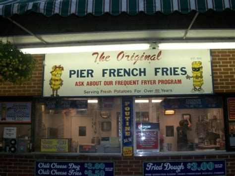 pier fries pier fries picture of pier french fries old orchard