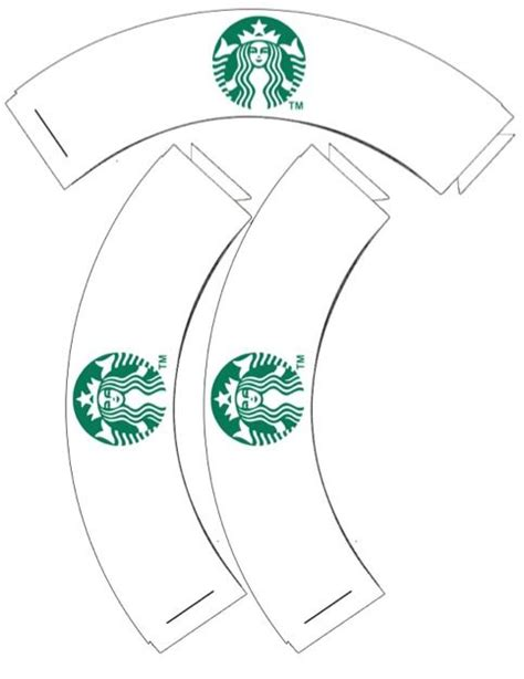 starbucks template free printable starbucks cupcake wrappers to go with the
