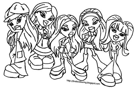 Pictures You Can Color by Coloring Pages Bratz Doll Color In Page Pictures You Can