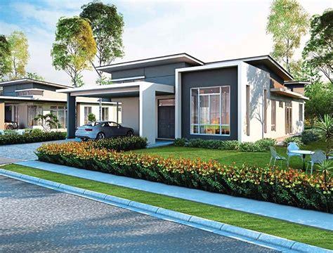 single storey bungalow house plans bungalow home design single storey bungalow house design malaysia home design