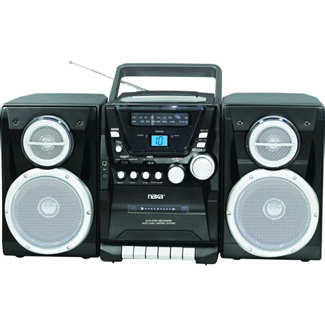 stereo cassette player naxa portable cd player with am fm stereo radio cassette