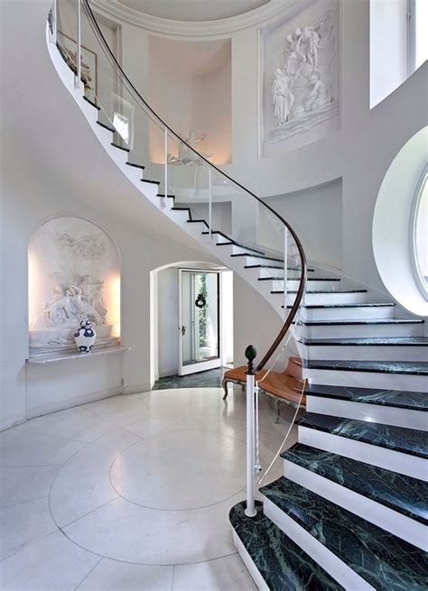 elegant staircases 30 stylish staircase handrail ideas to get inspired digsdigs