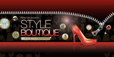 style boutique nintendo presents style boutique nintendo ds