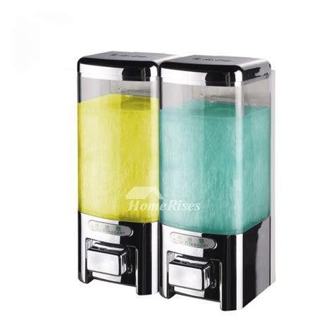 Promo Dispenser Sabun Cair Chrome Promo single three chrome soap dispenser manual wall mount