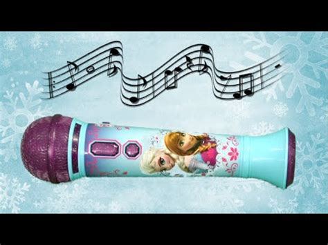 Mp3 Microphone Frozen frozen magical mp3 microphone from ekids