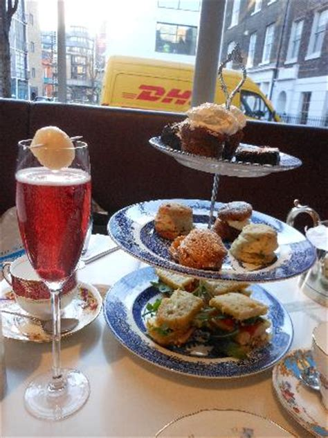 afternoon tea picture   modern pantry london