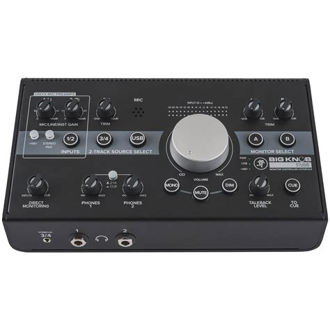 Mackie Big Knob by Mackie Big Knob Studio 171 Monitor Controller