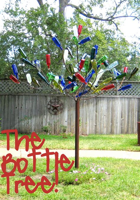 how to make a wine bottle tree diy bottle tree c r a f t