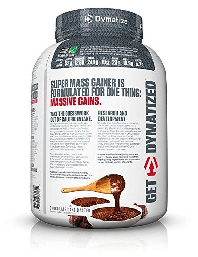 Suplemen Dymatize Mass Gainer dymatize nutrition mass gainer supplement best
