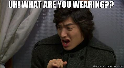 Lee Min Ho Memes - when lee minho sees a fashion terrorist allkpop meme center