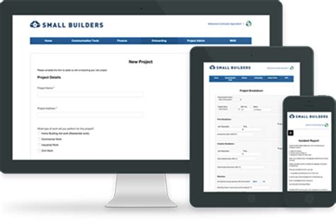 software for home builders small builders australian building software