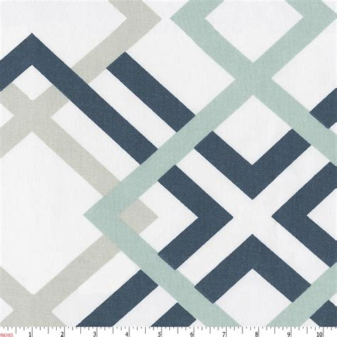 Navy Blue Home Decor by Navy And Gray Geometric Fabric By The Yard Navy Fabric
