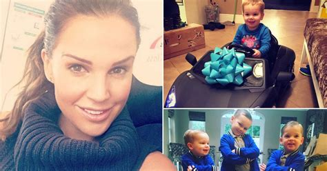 best christmas gift for your wife news celebrity danielle lloyd treats her three sons to the best christmas