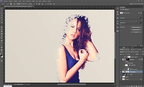tutorial photoshop cs5 efecto explosión de cara efecto de dispersion en photoshop arte taringa