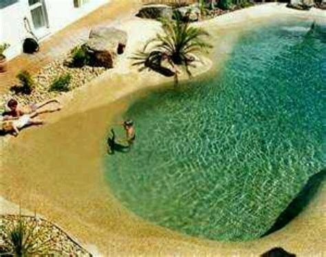 backyard beach pool realistic beach theme pool pools hot tubs pinterest