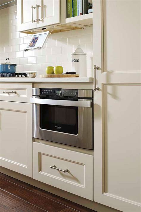 base built in microwave cabinet kemper cabinetry