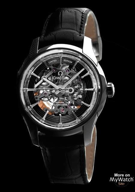 Omega Skeleton 3 All Black Chain omega hour vision skeleton