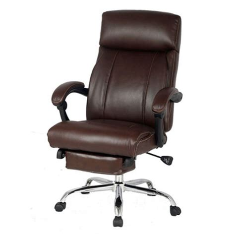 leather office recliner viva office high back leather recliner office chair with