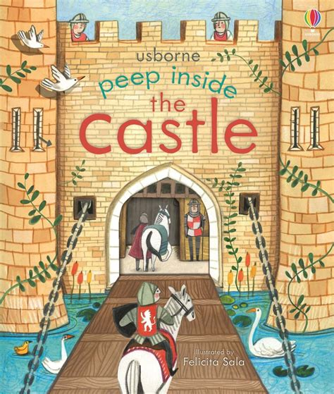 Usborne Peep Inside Time peep inside the castle at usborne children s books